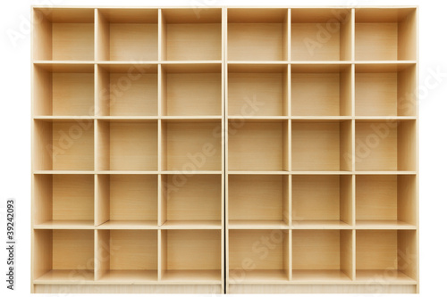 shelves, Small wooden box with cells - 39242093