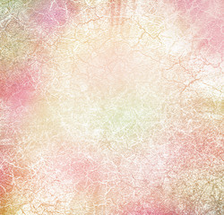 Pink abstract damaged background