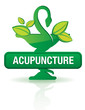 bouton caducee bio, acupuncture