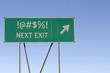 Cuss word - Next Exit Road