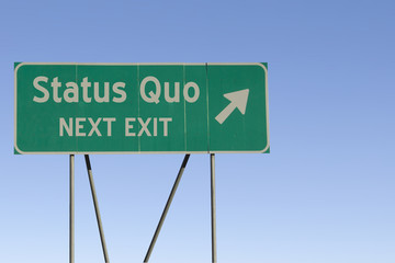 status quo - Next Exit Road