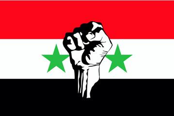 Syrian uprising vector