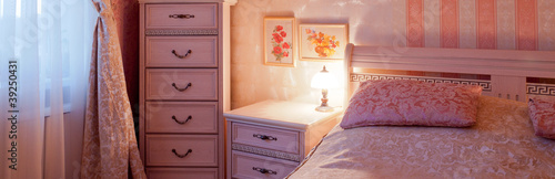 bedroom, interior, furniture