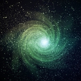 Space galaxy image