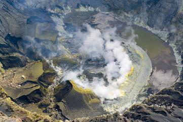 Volcano Kerinci. Kerinci Seblat National Park, Sumatra