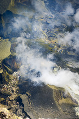 Volcano Kerinci. Kerinci Seblat National Park,  Indonesia
