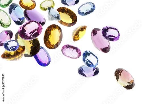 falling gems