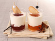 verrine of fresh dessert