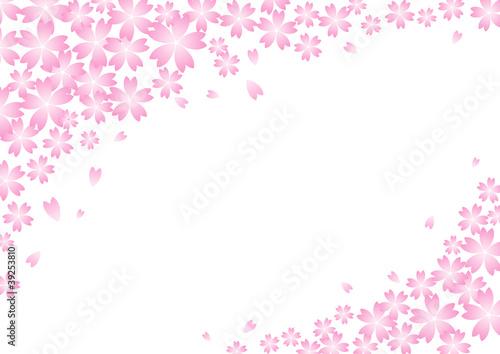 """春の背景素材-桜の花-""""Fotolia.com ..."""