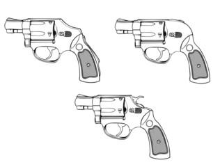 小型拳銃3種類