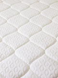 close up of a spring mattress