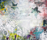 Abstract grunge colorful background - 39258679