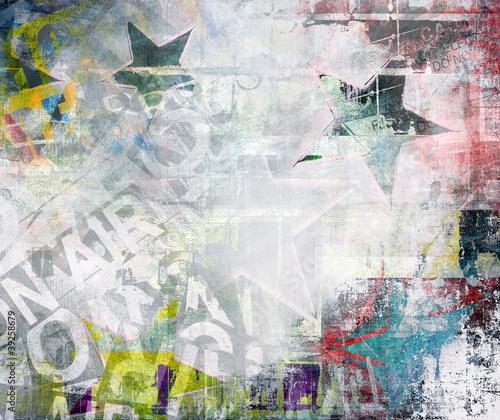 Fototapeten,deckung,entwerfen,gequält,graffiti