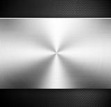 Fototapete Aluminum - Kulissen - Metall