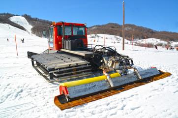 Snow Bulldozer