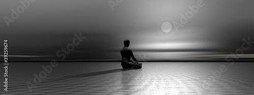 Meditation by night