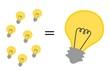 viele kleine Ideen ergeben eine große Idee