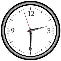 Uhr - Uhrzeit 2:30 am / pm