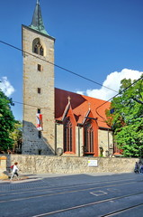 Schlösserstr., Altstadt_ Erfurt_Lorenzkirche,