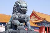 Fototapeta lew - statua - Pomnik Religijny