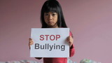 Stop Bullying - Sad Little Girl