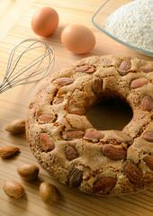 Ring-shaped cake - ciambellone