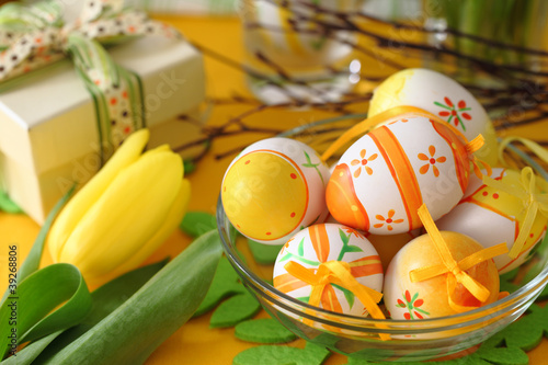 Ostern Tisch