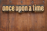 once upon a time opening phrase poster