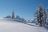Fototapety Winterlandschaft in den Bergen
