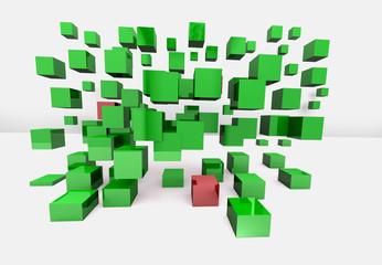 3D Würfel - Aufgaben - Projekt