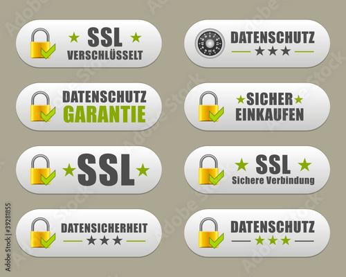 Datenschutz Buttons