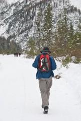 Trekking sulla neve