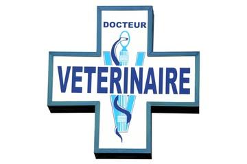 Enseigne de signalisation d'un docteur vétérinaire
