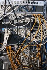 Serveur informatique - Baie de brassage