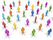 Social network. VIP status concept.