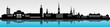 Skyline Stockholm mit Wasser