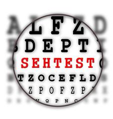 Sehtest - Buchstaben