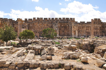 Ruins at Baalbek, Bekaa Valley, Lebanon