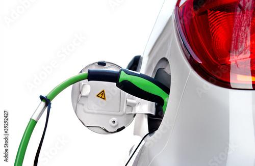 E-Car an Ladestation freigestellt