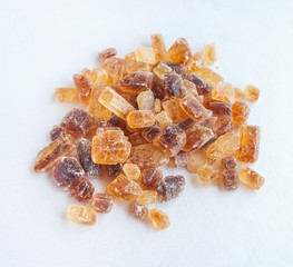 Large caramelized sugar