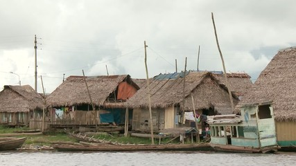 Slums am Amazonas, Südamerika
