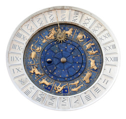 St Marks Astronomical Clock Isolated
