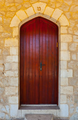 Wooden Israel Door