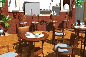 Bar-Caffè-Café-Locale-Caffetteria-Bistrot
