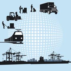 Hafen und Logistik