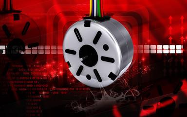 electro stepper motor