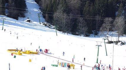 Skiing snow winter sports