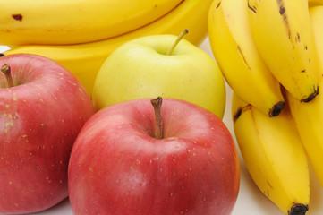 リンゴとバナナ