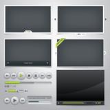 Fototapety Set of web frames and elements