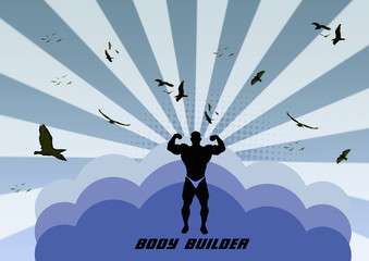 Bodybuilder background